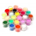 Nail Art Acrylic Powder 24 Colours