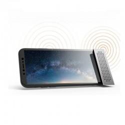 Mini uchwyt na telefon ze wzmacniaczem dźwięku
