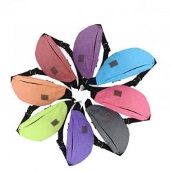 Waist & shoulder bag - sports bag - waterproof - nylon - with zippers