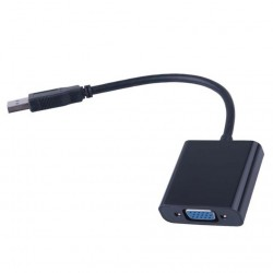 USB 3 to - VGA female connector - adapter - cable