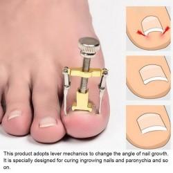 Profesjonalny korektor wrastającego paznokcia - podnośnik - stal nierdzewna