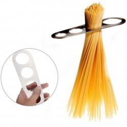 Pasta - Spaghetti Messwerkzeug - Edelstahl - richtige Portionsgröße