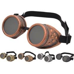 Vintage - steampunk goggle - halloween bril