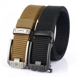 Cinturón militar táctico militar - hebilla de metal - nailon - 125 cm