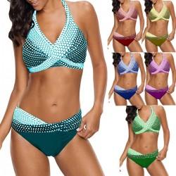 Polka Dots Badeanzug - Bikini-Set