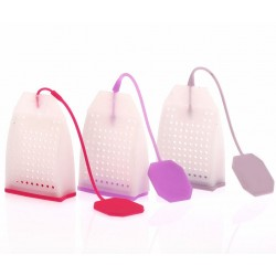 Reusable tea infuser - silicone bags