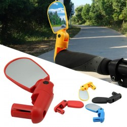 Universal adjustable bicycle mirror