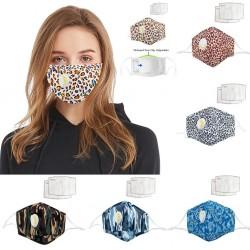 Maschera viso / bocca con valvola aria - con filtri a carboni attivi PM2,5 - lavabile