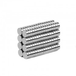 N35 Neodymium magnets - strong cylinder magnet - 4 * 1.5mm - 100 pieces