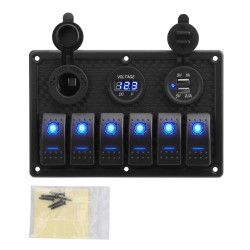 Multi-Functions Panel - 12V - Waterproof