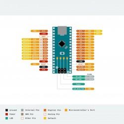 Nano V3.0 - usb cable - arduino - blue/black/red - ATMEGA328P/168P