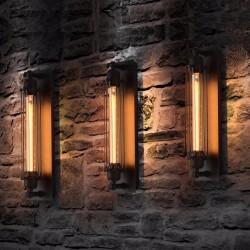 Kinkiet w stylu vintage - lampa lichtarzyk