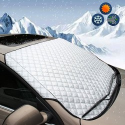 Windscreen cover - car window screen sunlight - frost ice