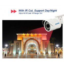 Escam QD320 - IP security camera - Outdoor Surveillance - Night Vision - CCTV - HD 720P