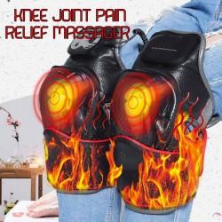 Masażer kolan na podczerwień - magnetyczne ogrzewanie wibracyjne - fizjoterapia stawów - masaż elektryczny - uśmierzanie bólu