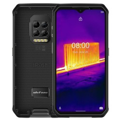 Ulefone Armor 9 - dual sim - Thermal Imaging Camera - 6.3 inch - 8GB 128GB - NFC - 6600mAh - Octa Core 4G - smartphone - black