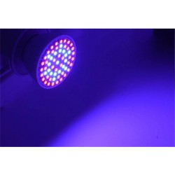 E27 LED grow light - 60 LEDS - plant & flower growing - hydroponic