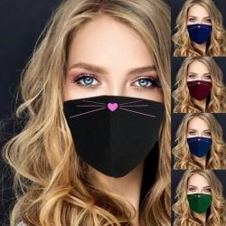 Gesichts- / Mundschutzmaske - waschbar - cartoon-print