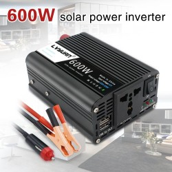1000W - USB Power Inverter - DC 12V to AC 220V - Car Converter