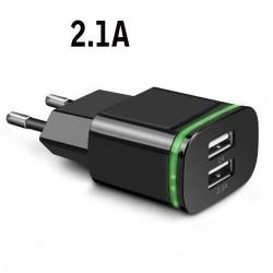 Universelles USB-Ladegerät - 2-Port / 4-Port - LED-Leuchte - Multi-Port