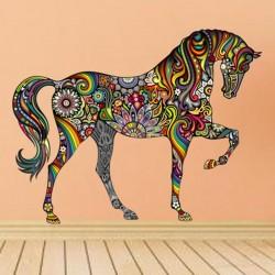 Animal Horse Wall Sticker - Mural Art - House Decor - 1pc