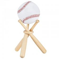 Stojak na piłki baseballowe / golfowe - drewniany uchwyt