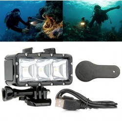 30m Underwater LED Diving Light GoPro - SJCAM