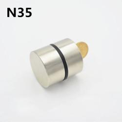 N52 - N35 - Neodym-Magnet - rund - 40 x 20 mm - 2 Stück