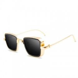 Steampunk - retro - quadratische sonnenbrille - unisex