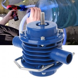 Self-priming - hand electric drill water pump