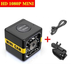 1080P - HD Webcam - Built-in Microphone - HD Mini Cam