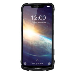 DOOGEE S90 Pro Global Bands - dual sim - 6.18 inch - NFC - Android 9 - 5050mAh - 6GB RAM 128GB ROM - 4G - Black - EU Version