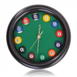 Billiards - Pool Table Ball - Wall Quartz Clock