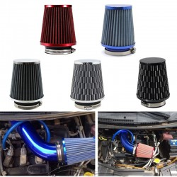 Universal Car - Air Filter - 76mm - Aluminum