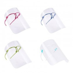 5 Pcs - Anti-droplet - Safety Mask - Transparent - Random Colours