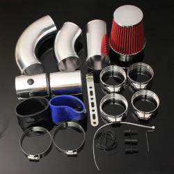 Universal Car - Air Filter Intake Kit - System - Performance - 1 Set