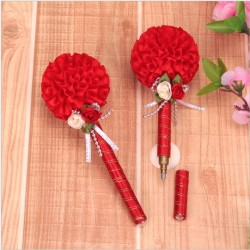1pc - Get married - Wedding Signature - Pen - 17cm