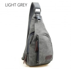 Heren Canvas Backpack Schoudertas