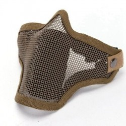 Airsoft - Steel - Metal - Mesh - Face Mask - Paintball Accessories