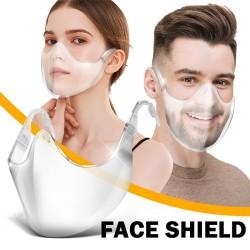 PM2.5 - Protective Mask - Transparent - Face Shield - Reusable