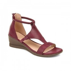 Summer Sandals - Mid Heels - Vintage - Black - Brown - Grey - Red