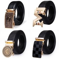 Luxusgürtel aus echtem Leder mit automatischer Schnalle