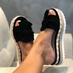 Sandalias de verano - chanclas con lazo
