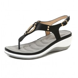 Summer - Bohemian - Fashion - Metal - Flat Sandals