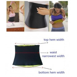 Body Shaper Elastisch Stretch Neopreen Afvalval Slimming Riem