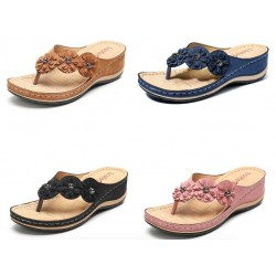 Sandals - Flower - Flip Flops - 5 colors