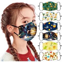 Various patterns - Breathable - 1PC - Child - Kids - Face Mask - Unisex