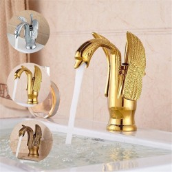 Luxury swan shaped faucet - tap with single hole