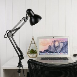E27/E26 - Led Bulb Lamps - Black - AC85-265V - Flexible Swing Arm