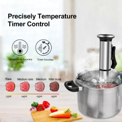 2nd Generation - Stainless Steel - Sous Vide Cooker - Circulator Machine